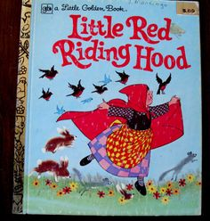 Little Golden Book Little Red Riding Hood by Mabel Watts 1978