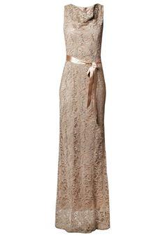 Young Couture by Barbara Schwarzer Suknia balowa - greige - Zalando. Greige, Light Dress, Grey And Beige, Dresses For Work, Formal Dresses, Maxi Dresses, Costume, Occasion Wear, Party
