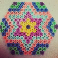 Perler bead star by jennifabell