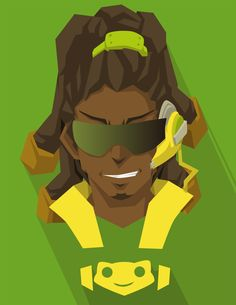 Game - overwatch face series by blackpelco on @DeviantArt