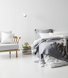 Recently we welcomed Katy Thomas of The Eye Spy Milk Bar and Aimee Tarulli of Archer Interiors into Adairs to style their dream bedroom.