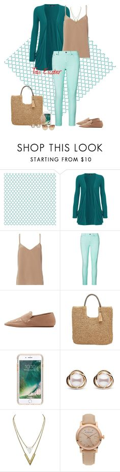 """Saturday morning......"" by tais-escobar ❤ liked on Polyvore featuring WearAll, L'Agence, Ralph Lauren, MANGO, John Lewis, Griffin, Trilogy, Burberry and Linda Farrow"