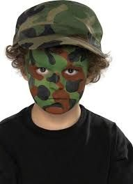 Image result for camo face paint