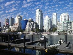 Vancouver's Skyline from Granville Island