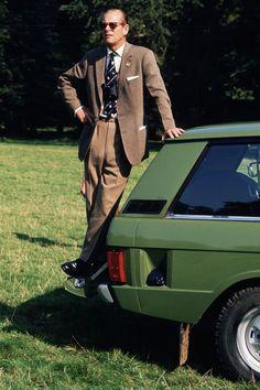 Prince Philip, Duke of Edinburgh, standing on his Range Rover car at the Royal Windsor Horse Show Get premium, high resolution news photos at Getty Images Elizabeth Philip, Princess Elizabeth, Queen Elizabeth Ii, Range Rover Classic, Adele, Duke Edinburgh, Range Rover Car, Queen 90th Birthday, Lady Louise Windsor