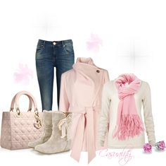 """""""Cotton Candy"""" by casuality ❤ liked on Polyvore"""