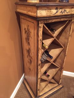Www.M37Auction.com: Pulaski Wine Cabinet