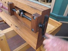 While I have a Benchcrafted end vise on my workbench, I still have a soft spot in my heart for homebrew wagon vises. I started with a lame homemade wagon vise I made from a veneer press screw. Then…