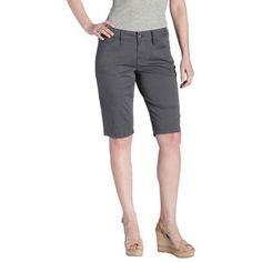 Jag-Jeans-Ladies-Bermuda-Short-Gray-Stone