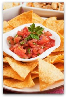 Healthy Homemade Salsa