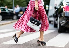 The Latest Street Style From Milan Fashion Week via @WhoWhatWear