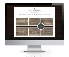 CIJI---custom Prophoto blog website design, rustic, nature, earthy tones, wood, custom branding, pinecone, custom logo design