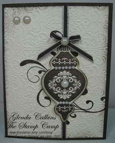 Image detail for -the stamp set i used is the new ornaments keepsakes