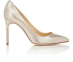 We Adore: The Lamé BB Pumps from Manolo Blahnik at Barneys New York