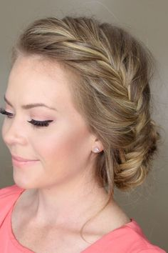The Perfect Updo! 40 Stunning Hairstyles You Can Do Yourself: Braided Updo