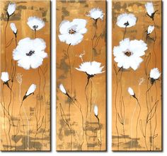 flower oil paintings - Our designs -50% off