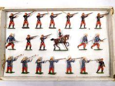 Original Heyde Zinnfiguren französ. Infanterie Sturm & Feuer OVP 4,5- 5cm/ 535 | eBay