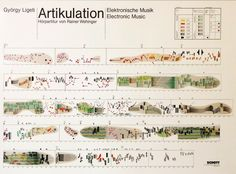 Artikulation ( vid ): the graphical score for Gyorgy Ligeti's electronic composition from It was produced by Rainer Wehinger twelve years after the original music was recorded. Watch the video.