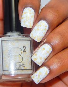 B Squared Lacquer: White Lights