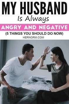 Is your husband feeling a lot more tense, aggressive, and angry than usual? These are 5 important things you should do right away. Click to read more.