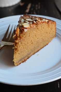 Recipe for buttery french-style almond cake made with almond paste.