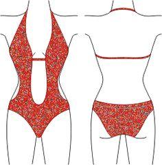 How to draft swimwear patterns!