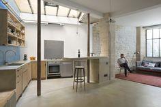 LOFT MDP Rénovation et aménagement d'un appartement. Lieu : Paris 10ème Surface : 137m² Livraison : Octobre 2014 Mission : Complète         &nb…
