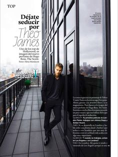 HQ SCANS: Theo James for Glamour Spain (October 2015 Issue)   The Theologians