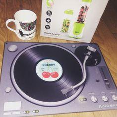 Birthday presents..glass #turntable chopping board  #decks #tonybenn #mug #smoothiemaker #vegan #health #dj #deejay #scratching #scratch #turntablism #promoter #clublife #lifestyls #music #ukbrand #designerDJ #dapper #style #innovators #entrepreneur #fashionbrand #menswear #fashion#clothing #apparel #vinyl by deejayqu http://ift.tt/1HNGVsC