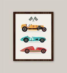 Hoi! Ik heb een geweldige listing gevonden op Etsy https://www.etsy.com/nl/listing/111338014/racing-cars-transportation-nursery-art