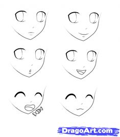 Step 5. How to Draw Anime For Kids