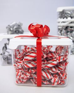 Gift idea - candy in GastroMax dry food keeper
