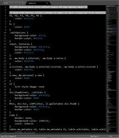 Код порой исключительно графичен.