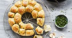 Asian Recipes, My Recipes, Bread Recipes, Party Buffet, Pampered Chef, Ciabatta, Food Design, Cupcake Recipes, Finger Foods