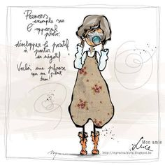 """MYRA & the colors …: my friend """"LUCE"""" Source by ljeanclaude Image Positive, Positive Attitude, Cards Diy, Graphic Design Illustration, Illustration Art, Quote Citation, Funny Christmas Cards, Illustrations, Caricature"""