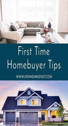 Here's a first-time homebuyer checklist and tips to help guide you on buying a new home. via @lifeandabudget