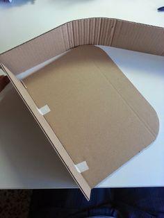 Decoración low cost: Vamos a elaborar una maleta de cartón
