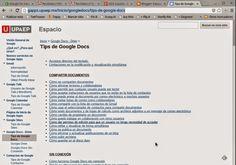 Educación tecnológica: Ayuda sobre las herramientas de Google: Gran sitio...