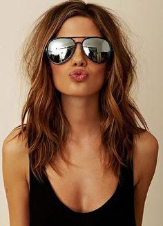 oculos espelhado... mirrored sunglasses