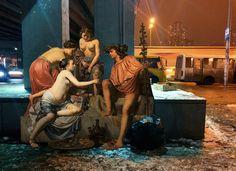 Les personnages de la peinture classique s'invitent dans notre monde moderne (image)