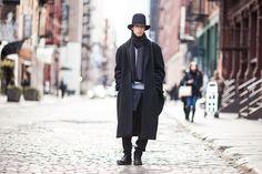 ストリートスナップニューヨーク - Wataruさん - COMME des GARÇONS HOMME PLUS, Dior, Yohji Yamamoto, コムデギャルソンオムプリュス, ディオール, ヨウジヤマモト