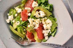 grapefruit avocado feta salad