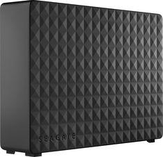 Seagate - Expansion 4TB External USB 3.0 Hard Drive - Black