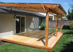Attractive Small Patio Roof Ideas Diy Patio Cover Designs Plans We Bring Ideas H Backyard Patio Designs, Pergola Designs, Backyard Landscaping, Patio Ideas, Pergola Ideas, Porch Ideas, Deck Overhang Ideas, Porch Designs, Diy Deck