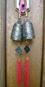 """2 """"Dragon Bells"""" for Inviting Good Fortune (11""""long)"""