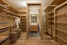 Zillow Digs is a new home improvement hub. Check it out for tons of home design ideas and professionals. Bedroom Closet Design, Master Bedroom Closet, Closet Designs, Master Bath, Walk Through Closet, Walk In Closet, Bathroom Furniture, Bathroom Interior, Minimalist Closet
