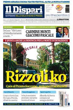 La copertina del 27 maggio 2015 #ildispari #ischia