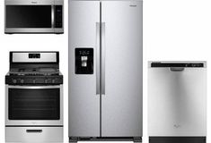 Shop for kitchen appliance packages at Best Buy. Find great prices on kitchen appliance bundles and suites from top brands. Appliance Bundles, Appliance Sale, Stainless Steel Refrigerator, French Door Refrigerator, Laundry Room Appliances, Home Appliances, Kitchen Appliance Packages, Future House, Dishwasher