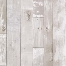 Gray Distressed Wood Plank Wallpaper. 347-20131 - Kitchen & Bath Resource III