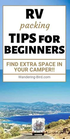 Packing up a motorhome, camper or RV? After 2 years on the road, we have PLENTY of tips and tricks on how to pack a motorhome and stop rattles! Road Trip On A Budget, Road Trip Packing, Road Trip Hacks, Packing List For Travel, Rv Travel, Packing Tips, Travel Trailers, Road Trips, Camper Trailers
